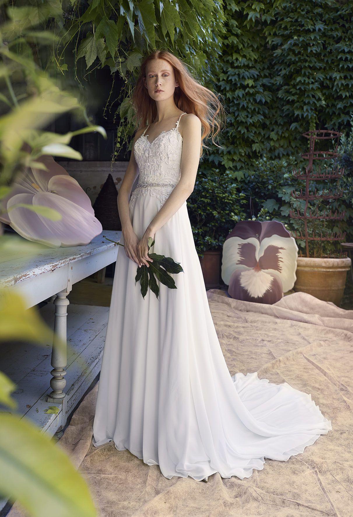 CHAVA, wedding dress from Annasul Y. 2018 Bridal Collection. www ...