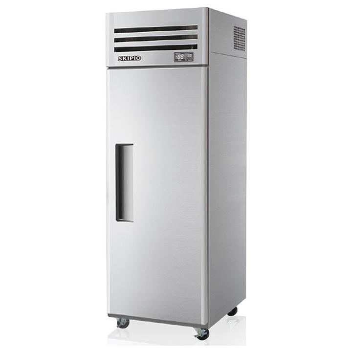 Srt25 1 1 Door Upright Chiller Solid Doors Polyurethane Insulation Upright Freezer