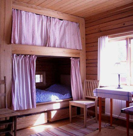 Old Style Swedish Bunk Bed Tarrs Ng Dalecarlia Dalarna