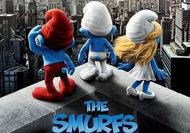 One of my favorite movies:  The Smurfs