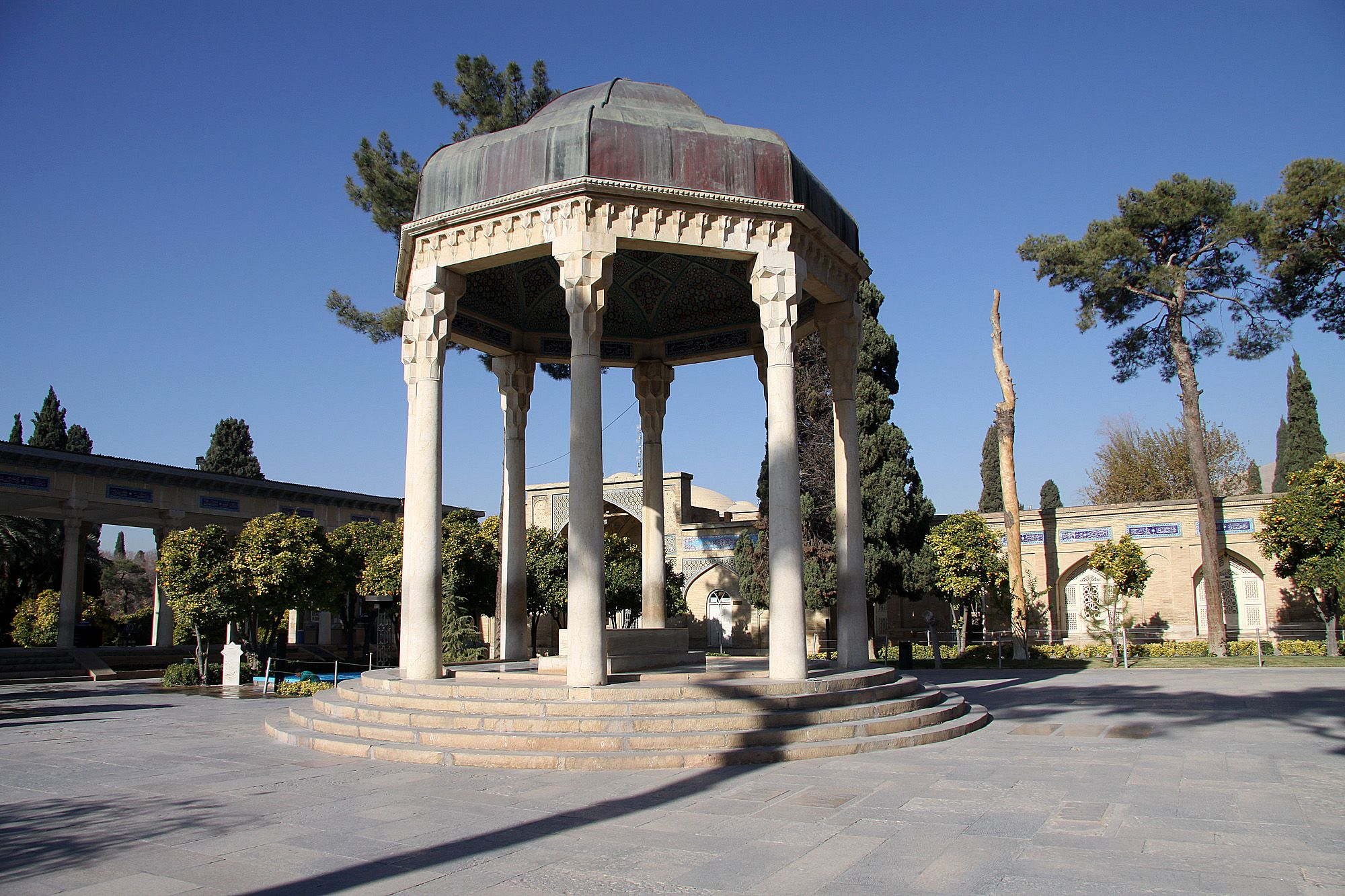 Tomb of Hafez in Shiraz (Iran).