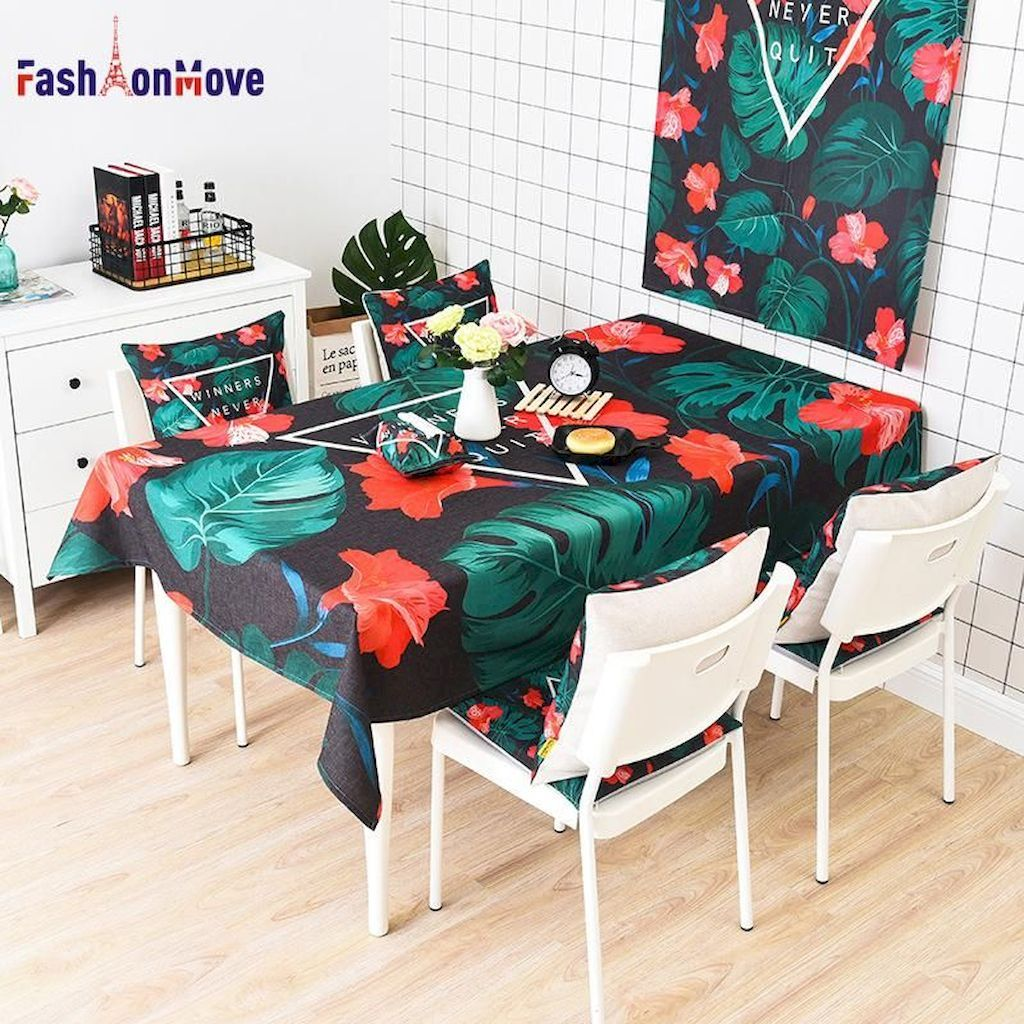 Luxurious The Perfect Table Cloth For a Round Dining Table There are different shapes, styles, and designs available when talking about dining tables. Variety, after all, has been said to be the spice of life.... ,
