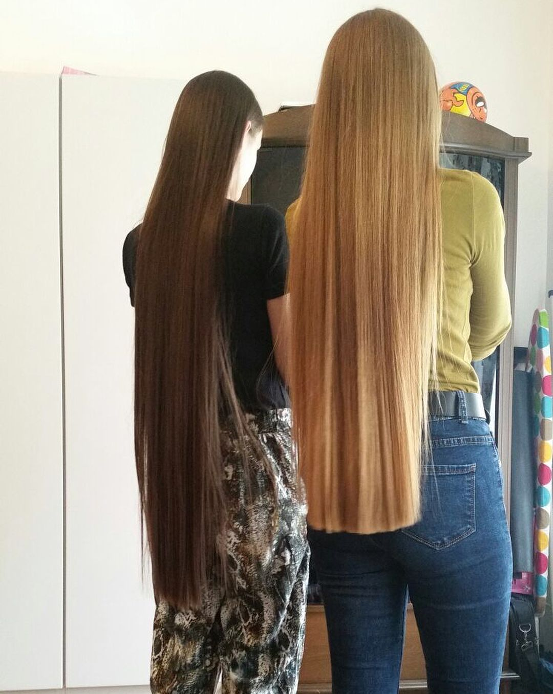картинки подруг для длинных волос под