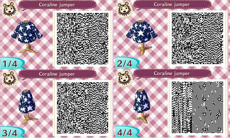 Coraline Qr Codes Animal Crossing Qr Codes Animals Animal Crossing