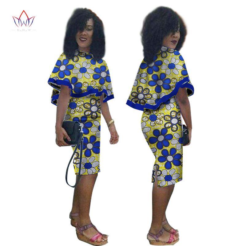 african dresses women autumn dress brazil maxi plus size o-neck