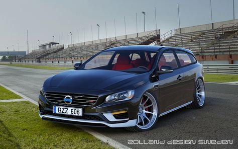 V60 2 Door Estate V8 Powered Concept By Zolland Design Volvo V60 Volvo Volvo Cars