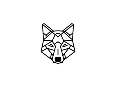 Geometric Animal Wolf Geometric Wolf Tattoo Geometric Tattoo Design Simple Wolf Tattoo