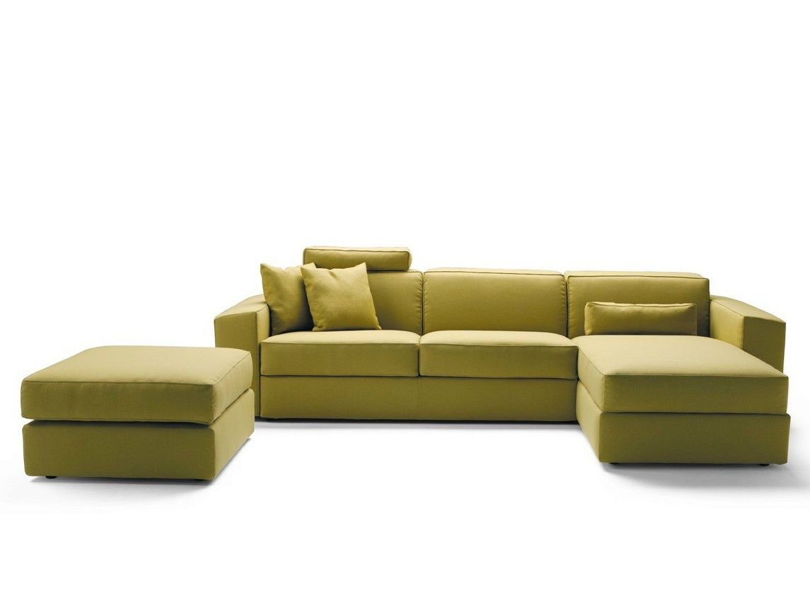 MELVIN Sofa with chaise longue by Milano Bedding design