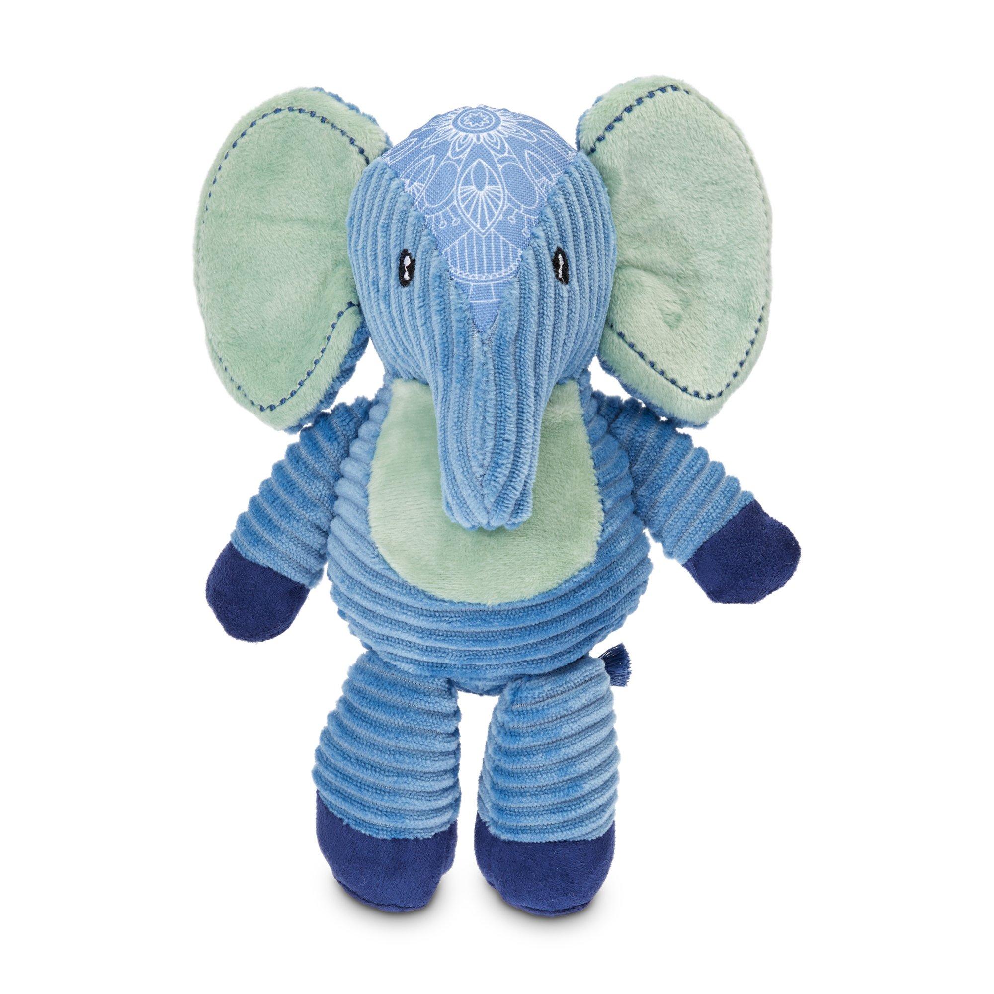 Serenity Peaceful Elephant Plush Bungee Dog Toy Medium Elephant