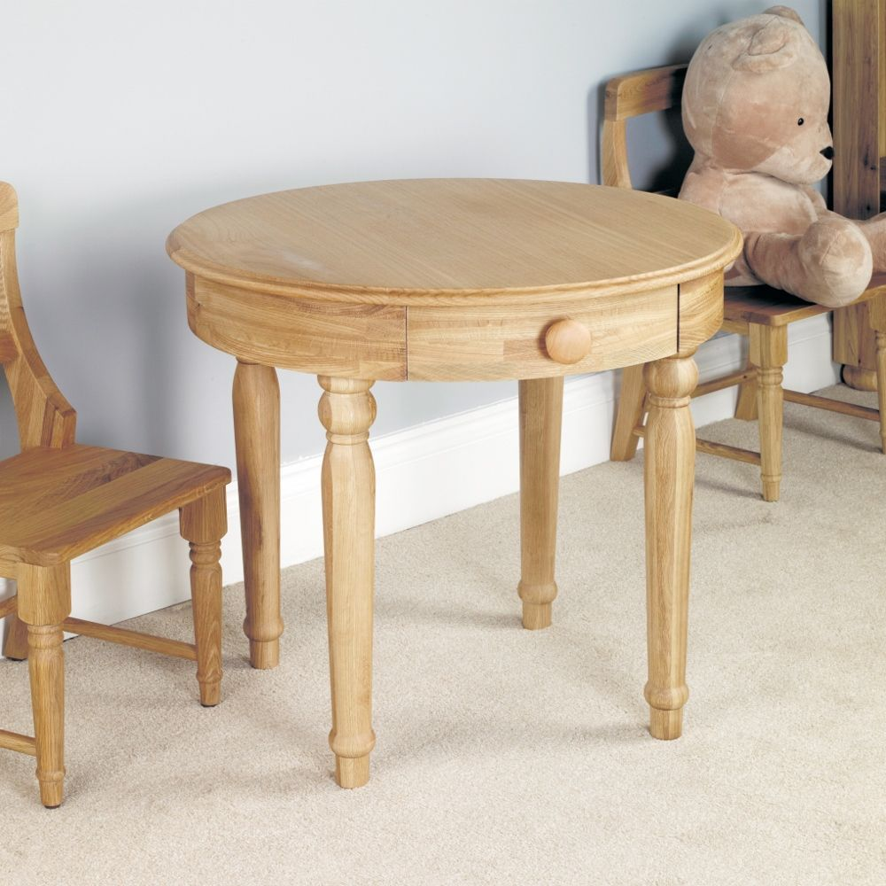 Amelie Oak Childrens Play Table Cco04a Childrens Play