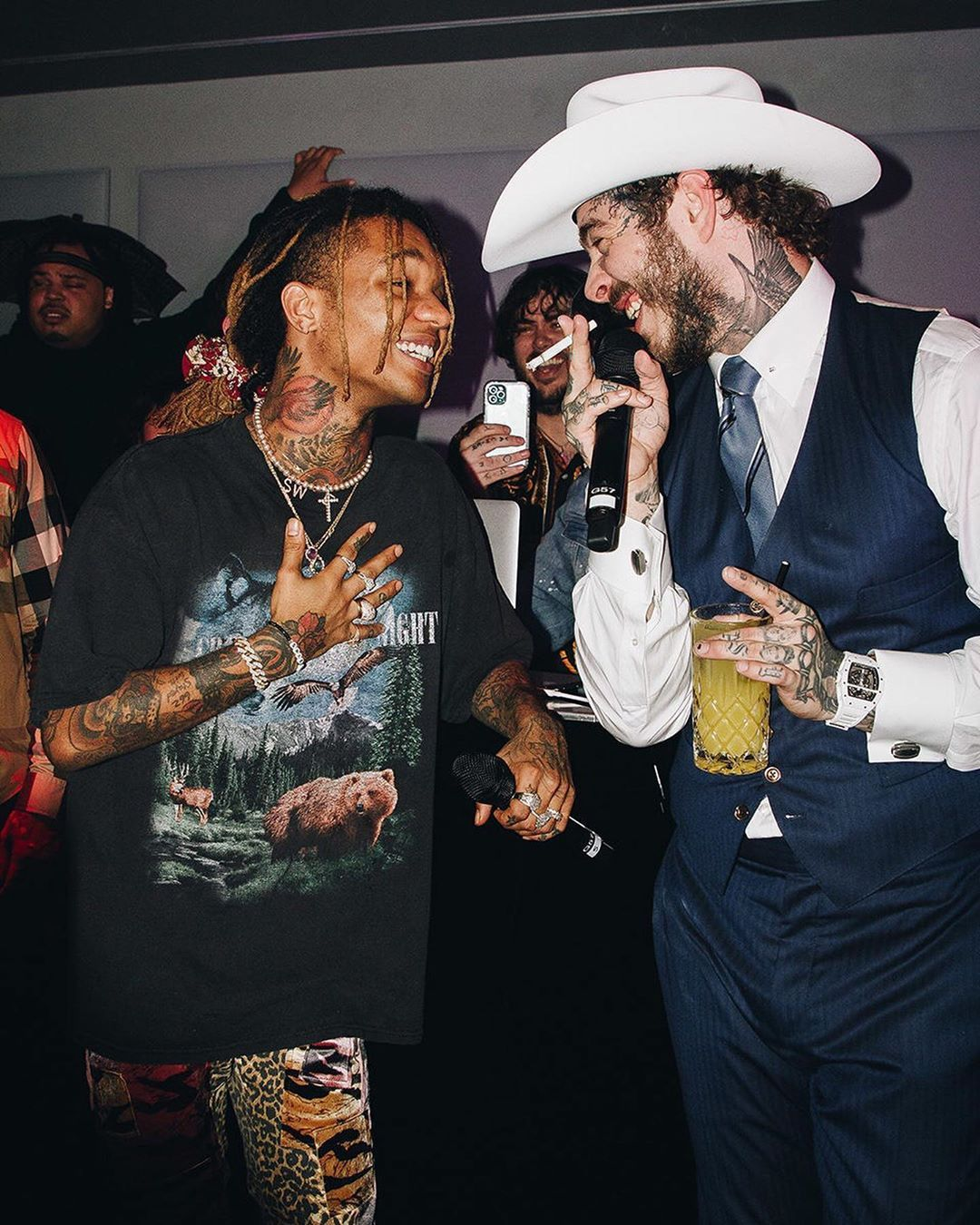 24 2k Likes 73 Comments Gq Gq On Instagram Last Night In West Hollywood We Celebrated Our Gqmoty Issue With A Hip Hop Artists Post Malone Good Music