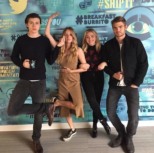 The 5th Wave cast having some fun | 5th Wave in 2019 | The