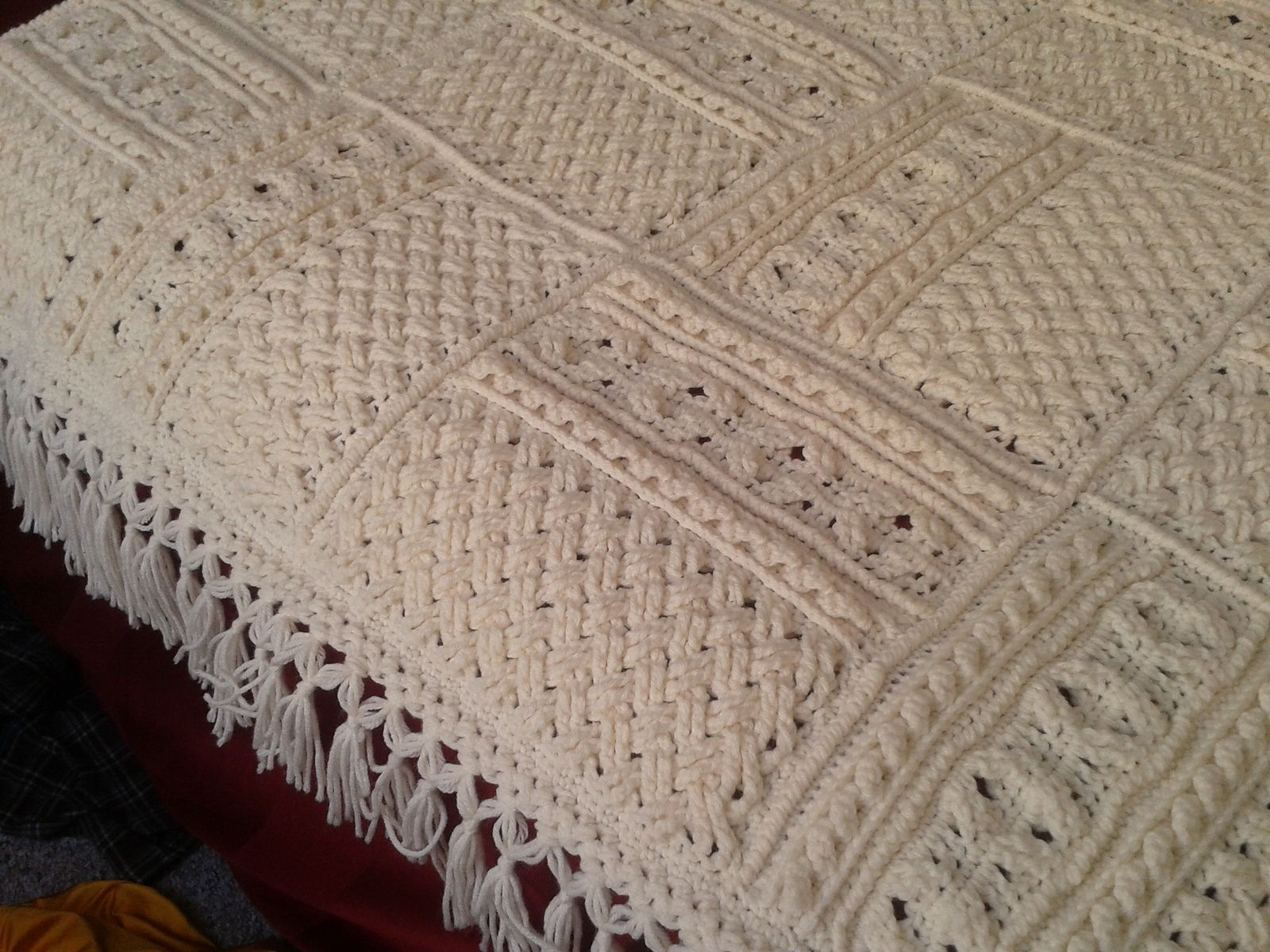 Ravelry: Project Gallery for Tan Sampler pattern by Bonnie Barker ...