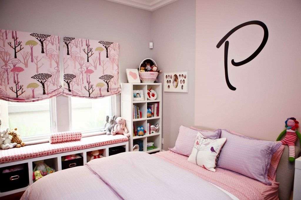 A Modern Take On Pink And Purple Modern Girls Rooms Modern
