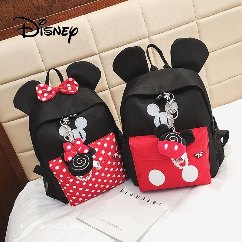 Boys Girls Kids Nursery Toddler Mickey Mouse Small Backpacks Schoolbag Mini Bags