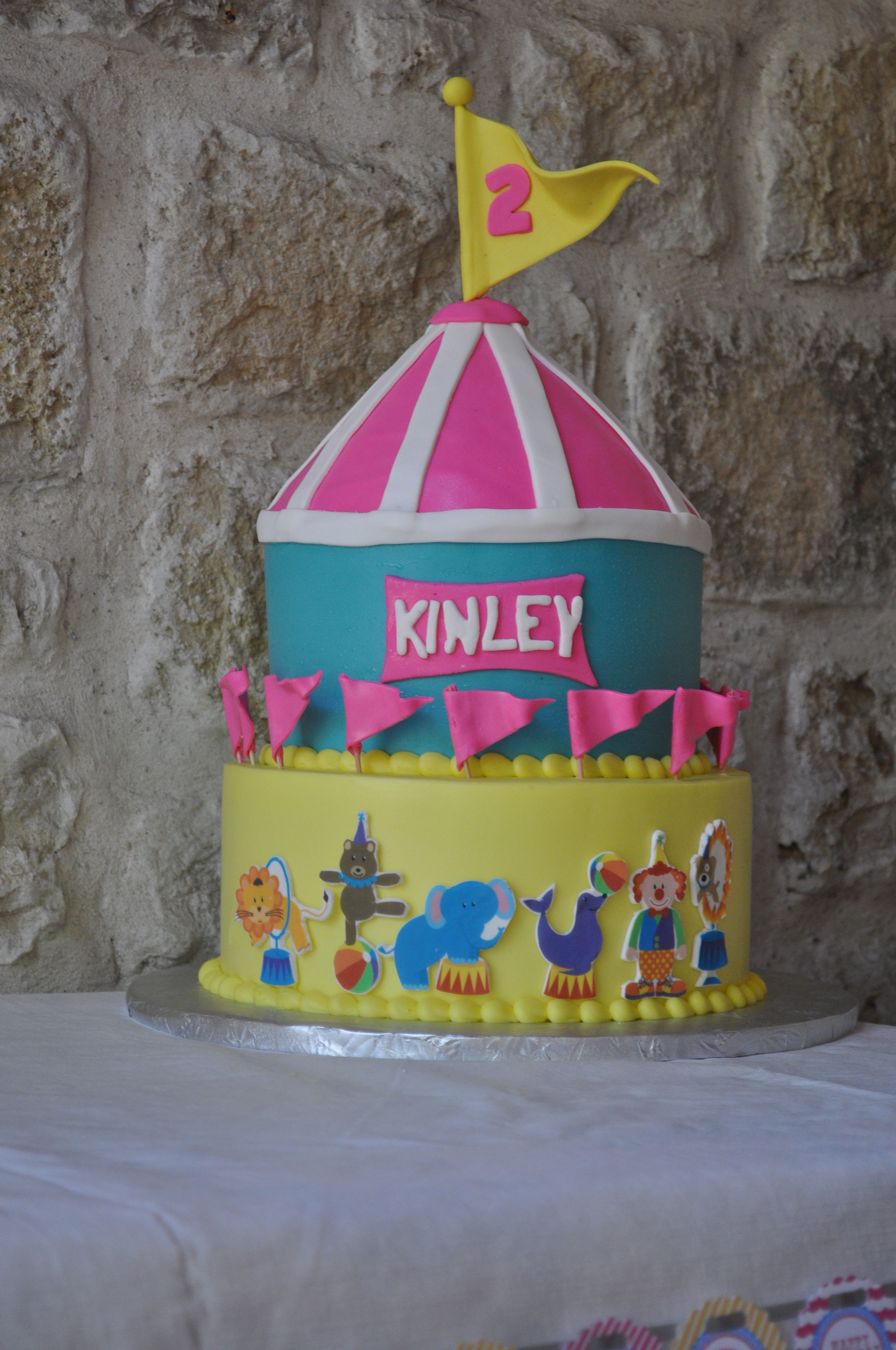 Yummy Cake Thanks To Sonjas Bakery In Dallas Kinley 2nd Birthday