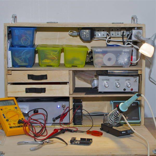 Woodworking Shop Electrical Layout: Nisker.net: Mobile Electronics Workbench