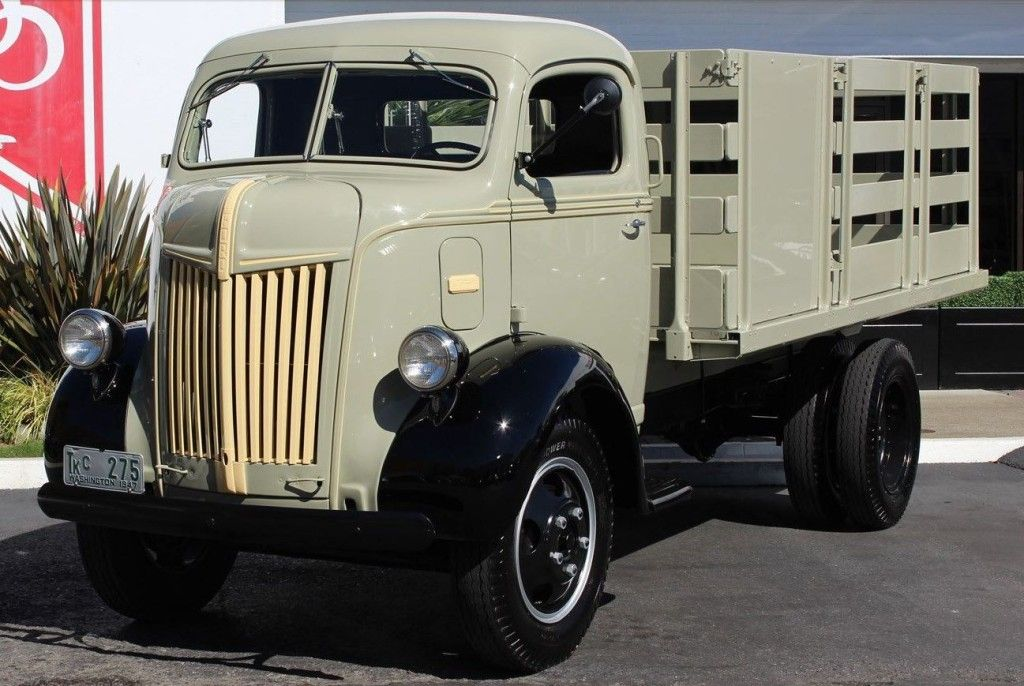 12-Speed Flatty: Restored 1947 Ford 79T Cab Over Engine Truck