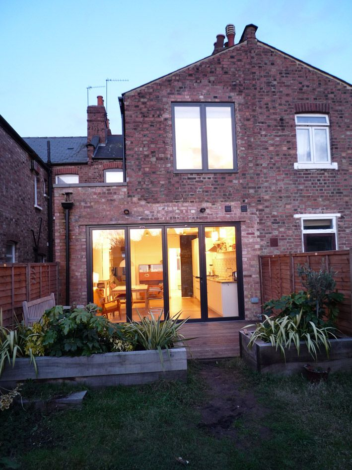 Victorian terraced house extension google search for Garden house extension