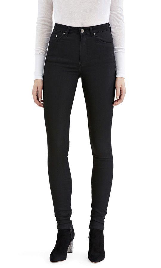 svarta jeans man