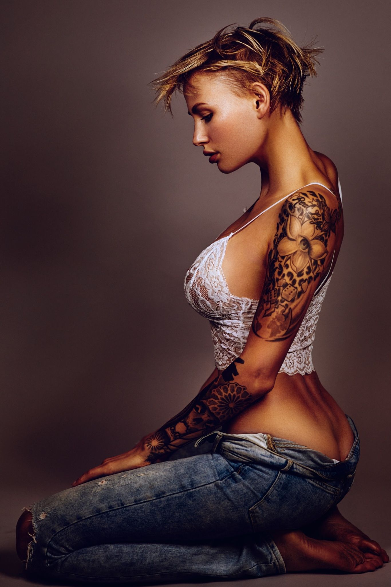 girls with tattoos photography nackt