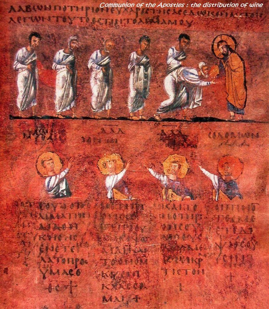 Rossano Calabro Codex Purpureus Rossanensis Byzantine Art Medieval Paintings Medieval Art