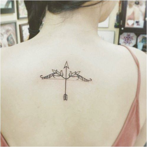 15 Amazing Arrow Tattoos for Females:  #TattooInspiration Click to see more.