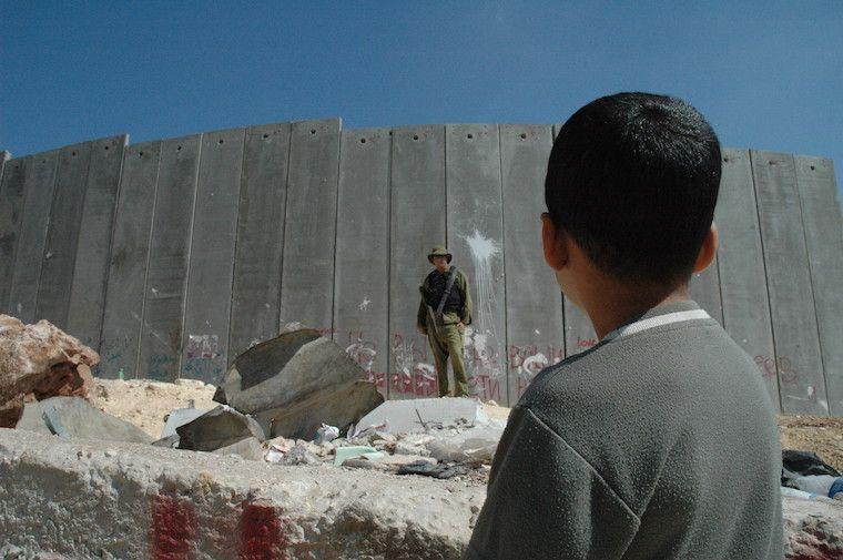 Muro entre israel e palestina