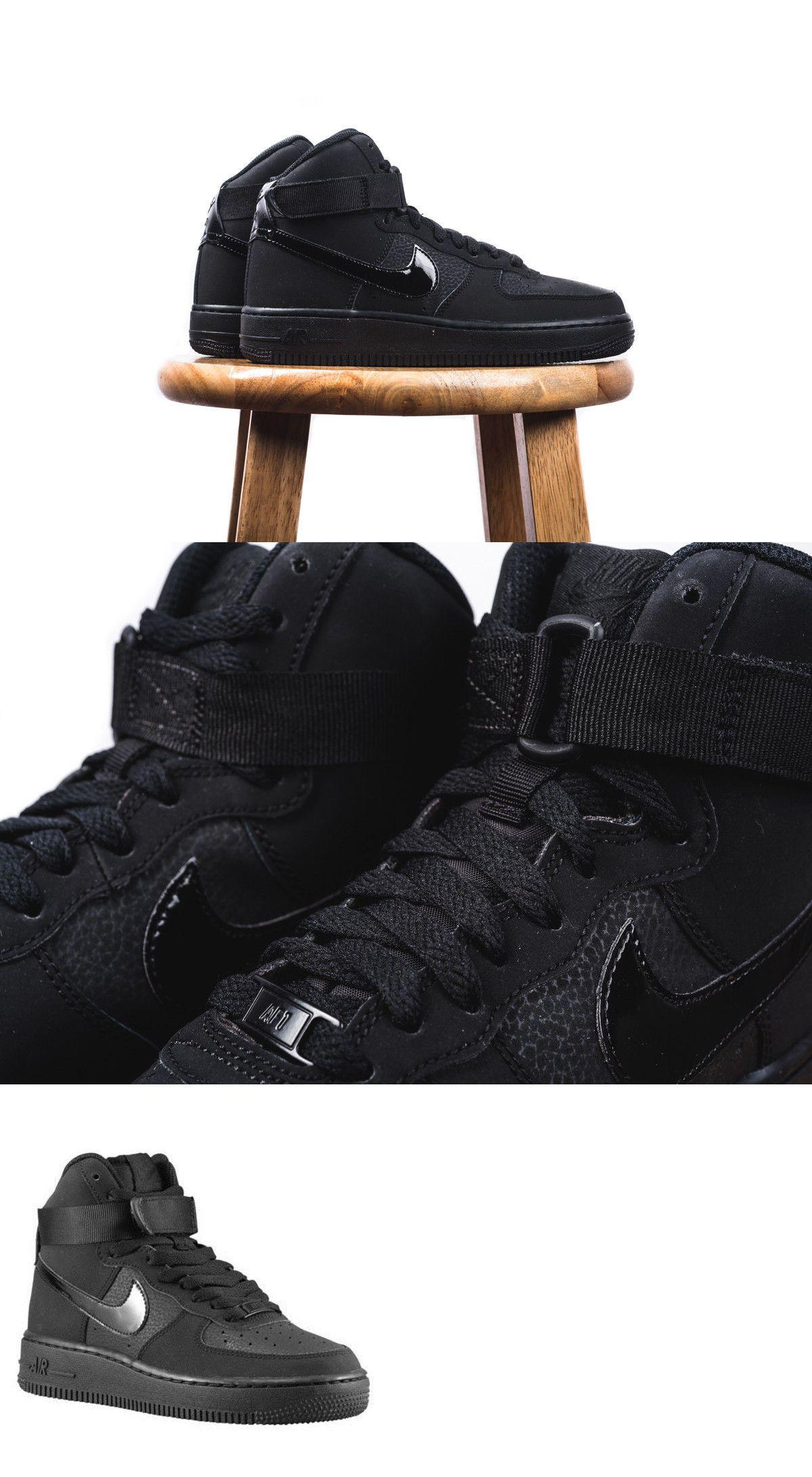 Nib Big Kids Size 5.5 NIKE AIR FORCE 1 Low Top Basketball Shoes White 314192-117