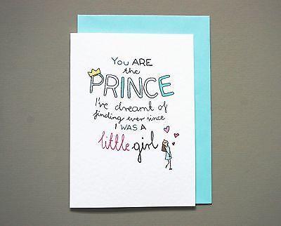 Valentines card boyfriend husband anniversary handmade card – Valentines Card to Boyfriend