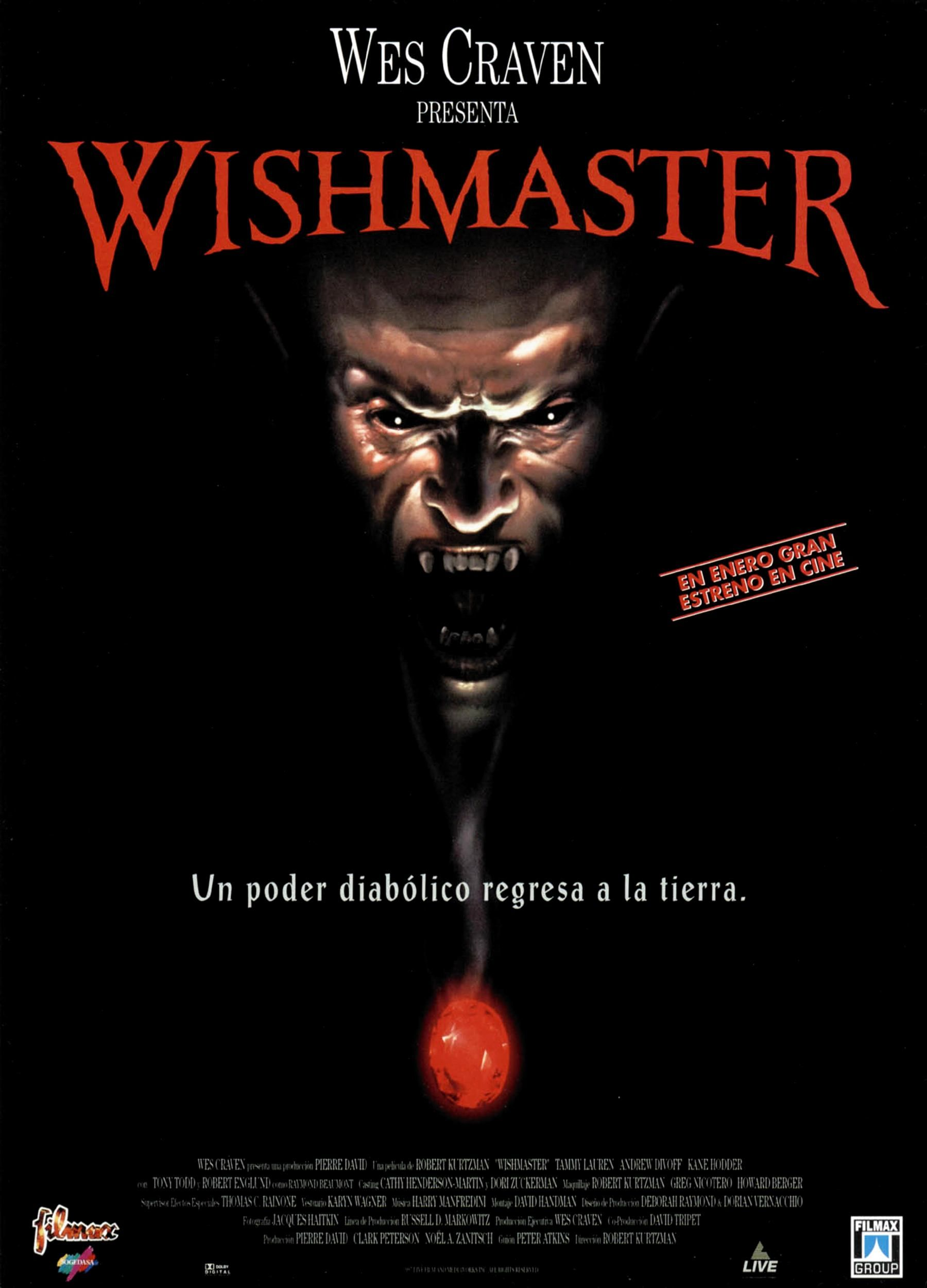 Wishmaster 1997 Horror Movies Thrillers Movies