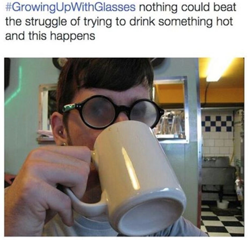 50 Memes About Wearing Glasses That Will Make You Laugh Until Your Eyes Water Relatable I Laughed Growing Up