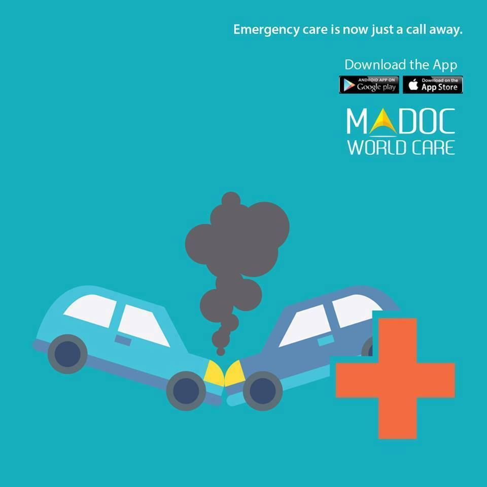 Emergency Care Is Now Just A Call Away. Madoc World Care Anytime Anywhere Download the app today. Google Play: http://bit.ly/1s0JJNn Itunes: http://apple.co/24RRs1Z  #madocworldcare #healthcare #instahelp #instadoc #doctors #hospitality