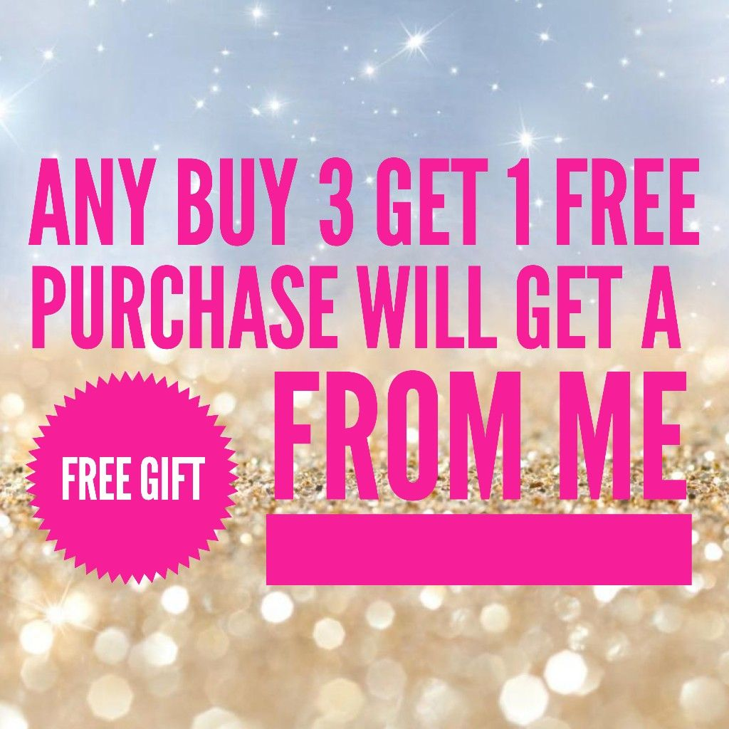 Buy 3 get one FREE on solids,glitter, and prints Color