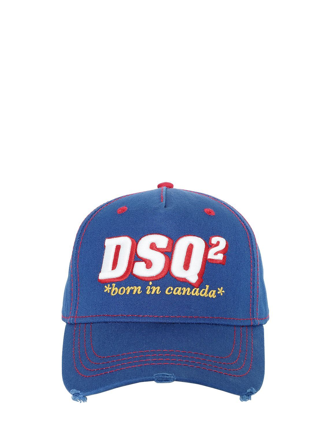 embroidered logo patch baseball cap Dsquared2 b7rRYPf