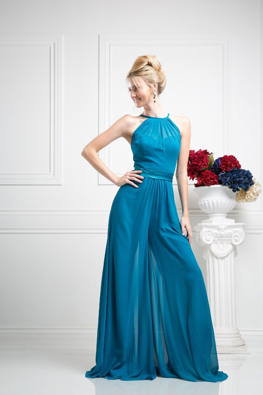 Formal Pants Suit Jumper Plus Size Prom Dress | Products | Pinterest ...