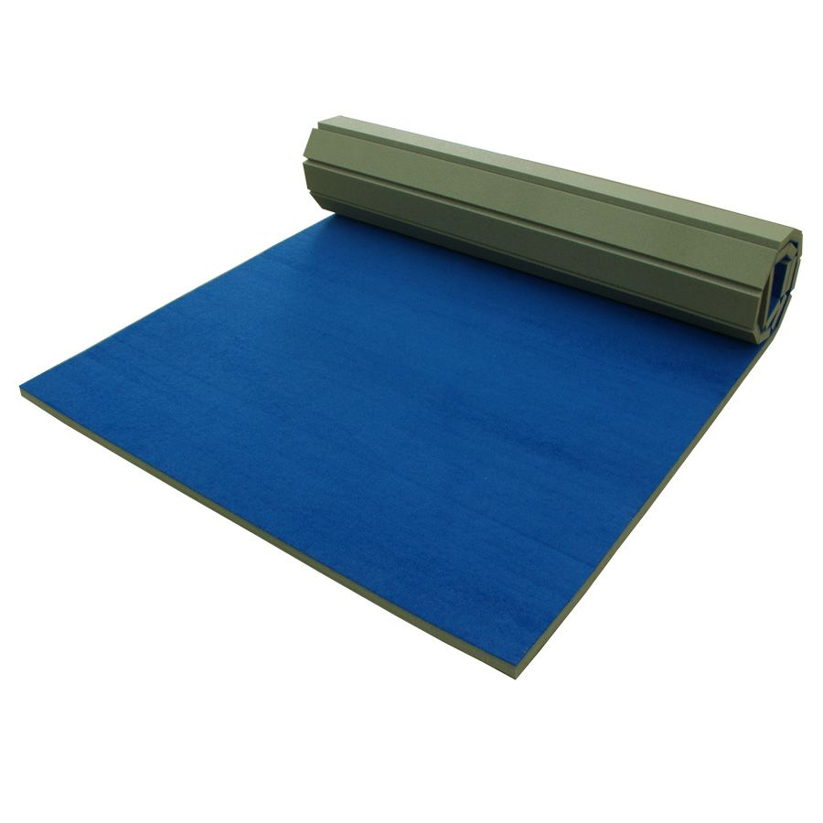 co uk mirafit folding large exercise dp blue sports outdoors mat gymnastics mats amazon big