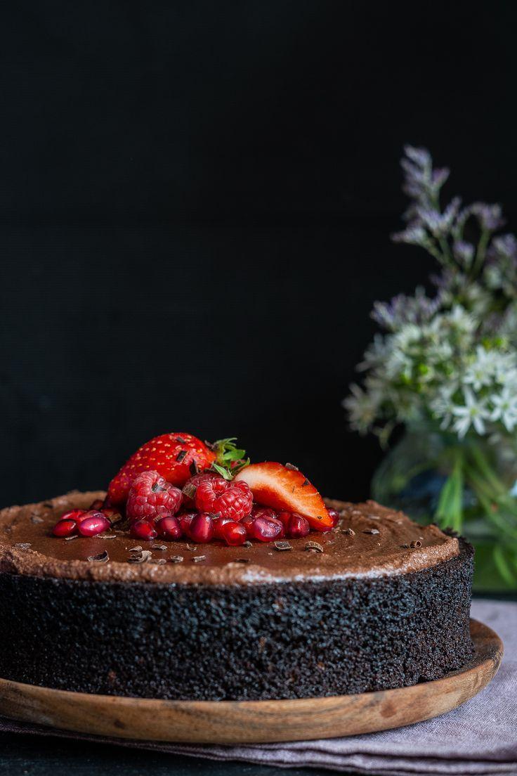 Schneller Schokoladenkuchen vegan – ohne Mixer, 1-Schüssel – Süsses