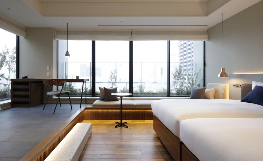 Hamacho Hotel And Tokyo Craft Room Tokyo Japan Room Hotel Interior Design Hotel Interior