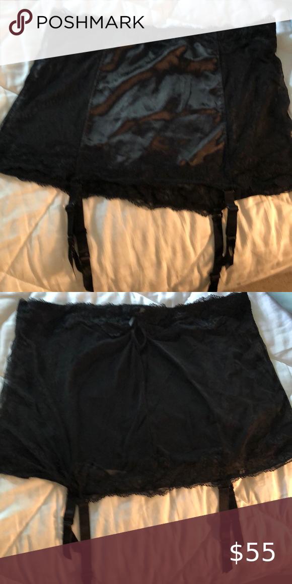 Torrid Black Garter Belt Only