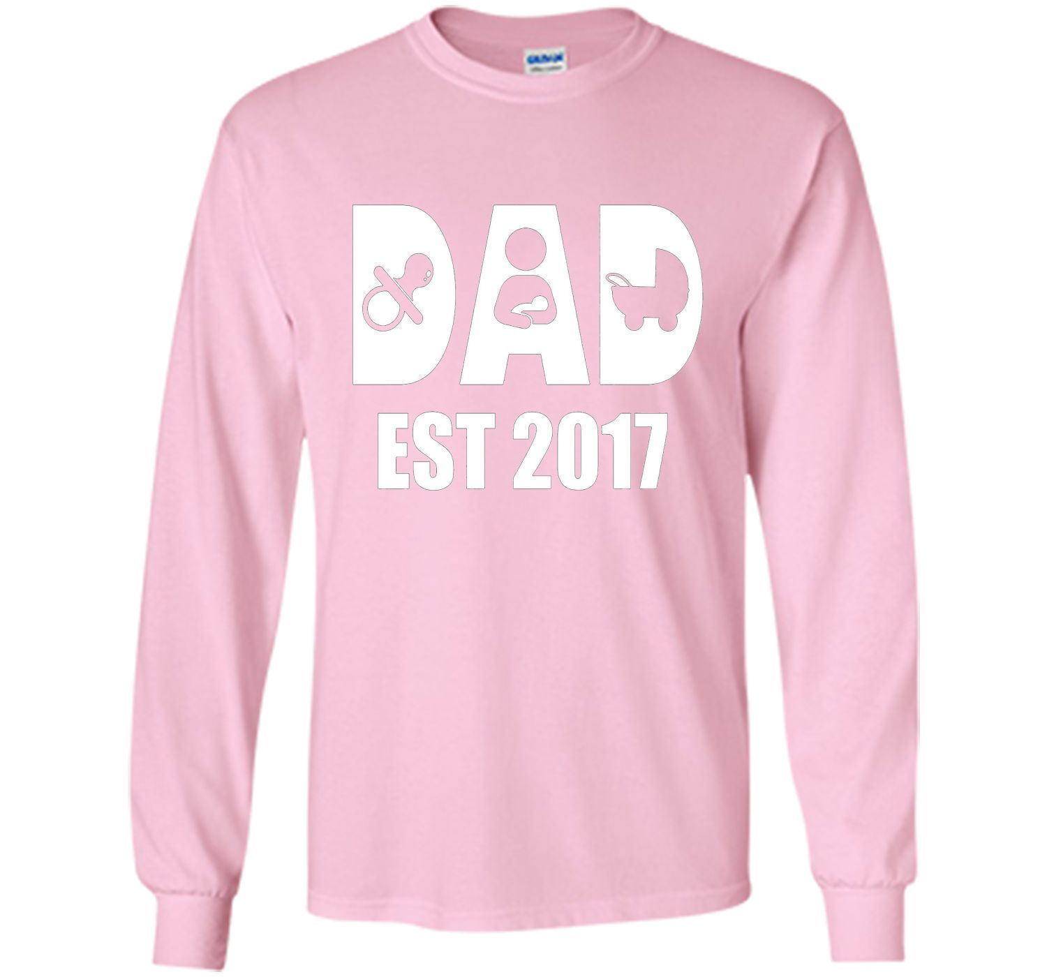Best Gifts For First Time Dads Part - 36: Happy First Time Dad Shirt - Best Gift Fatheru0027s Day 2017