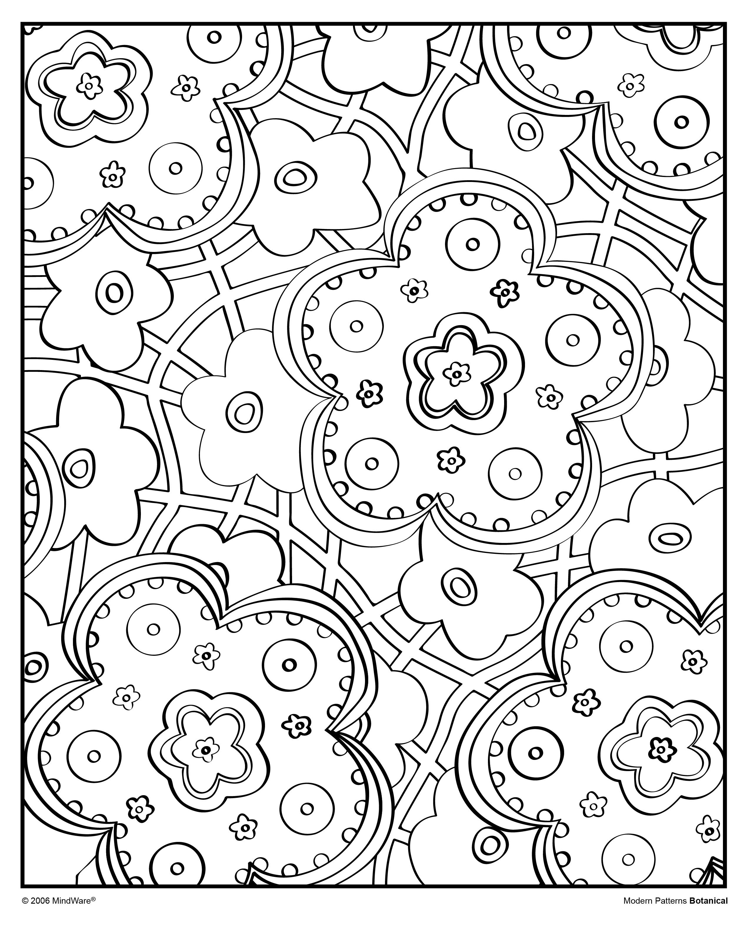 Grab your markers or colored pencils and decorate this groovy image ...