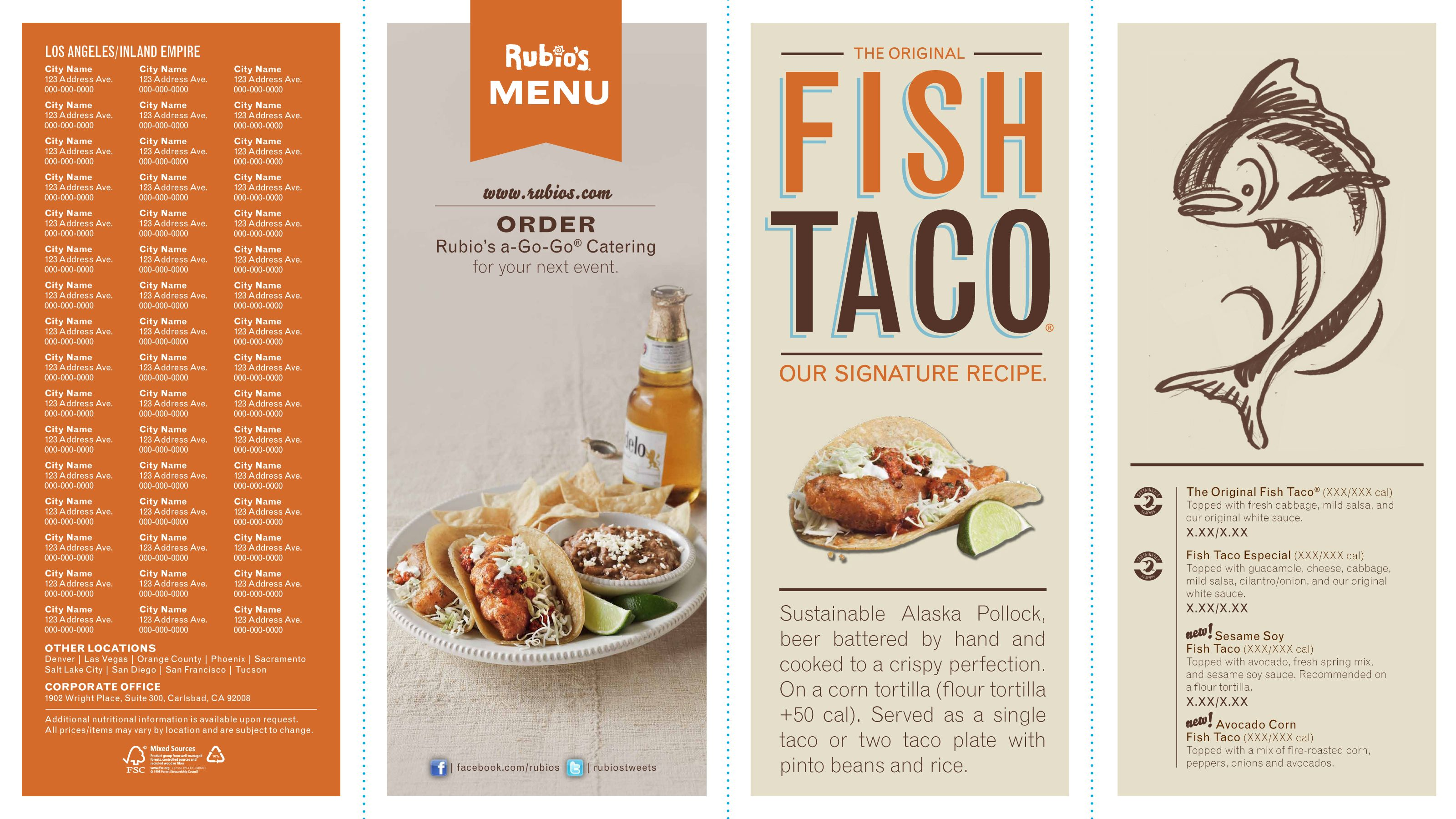 rubios takeoutmenu 014 lo 1 jpg 3200 1800 menu design pinterest