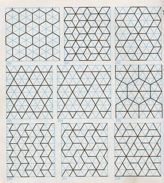 Gpb 016 Geometric Patterns Borders David Wade Pattern In