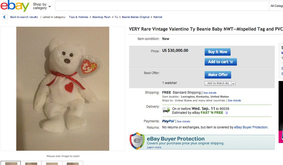 Some Beanie Babies Are Still Worth Something  685cd833952