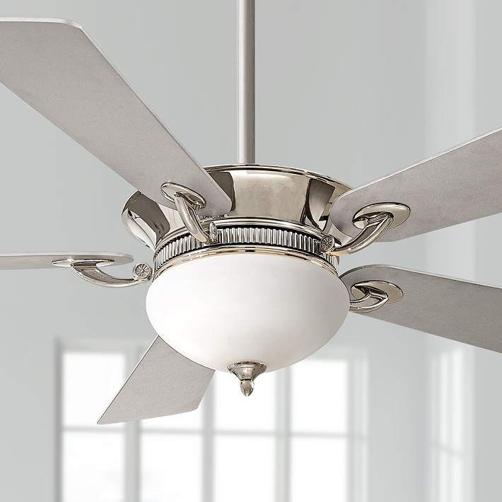 52 minka aire delano polished nickel ceiling fan polished nickel 52 minka aire delano polished nickel ceiling fan 3k283 lamps plus aloadofball Choice Image