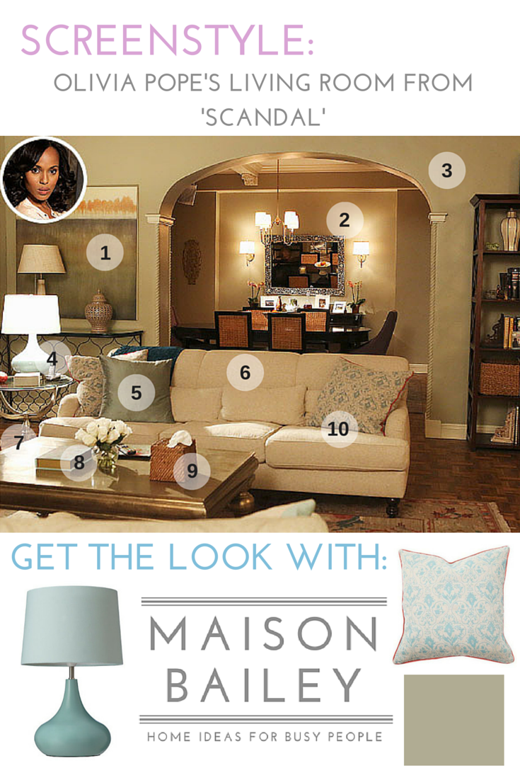 Olivia Popes Living Room Scandal Olivia pope Scandal and