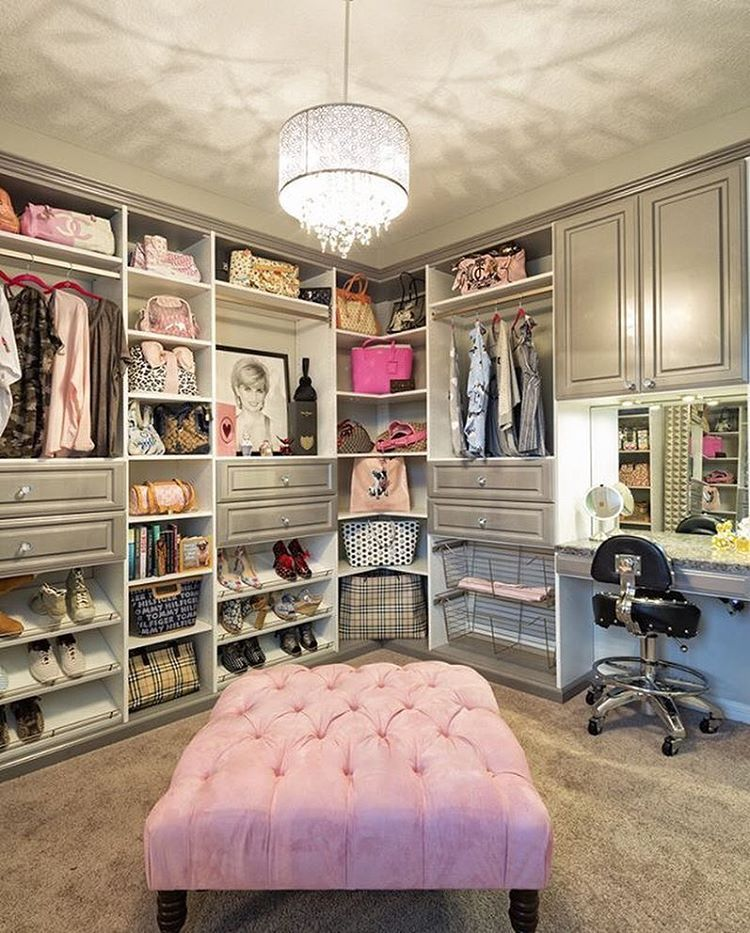 11 Seriously Stunning Real Girl Vanities That Will Make You Lose Your Sh T Closet Bedroom Spare Bedroom Closet Design