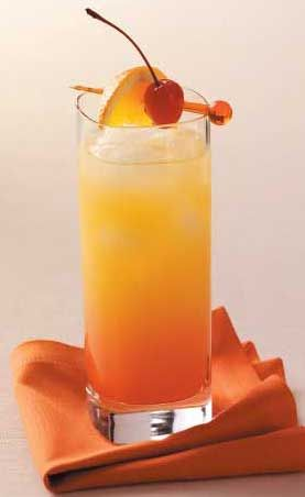 Tequila Sunrise! My mom makes these for her and her friends. I usually make myself designated taste tester to insure   that they aren't poisoned b/c they're SO GOOD!