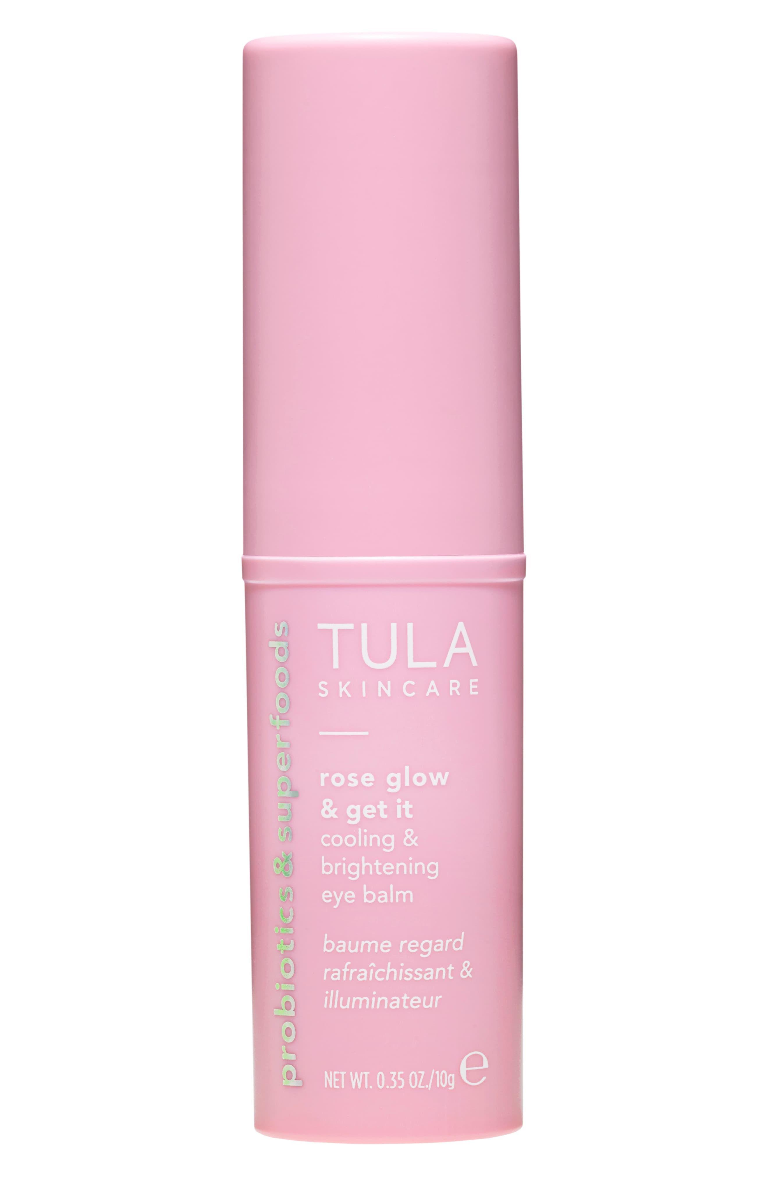 Tula Probiotic Skincare Rose Glow Get It Cooling Brightening